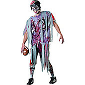 End Zone Zombie - Adult Costume Size: 40-42
