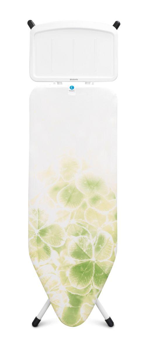 buy brabantia ironing board c 124x45cm leaf clover from. Black Bedroom Furniture Sets. Home Design Ideas