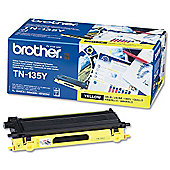 Brother TN135Y printer toner cartridge - Yellow