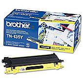 Brother TN135Y printer toner cartridge - Yellow