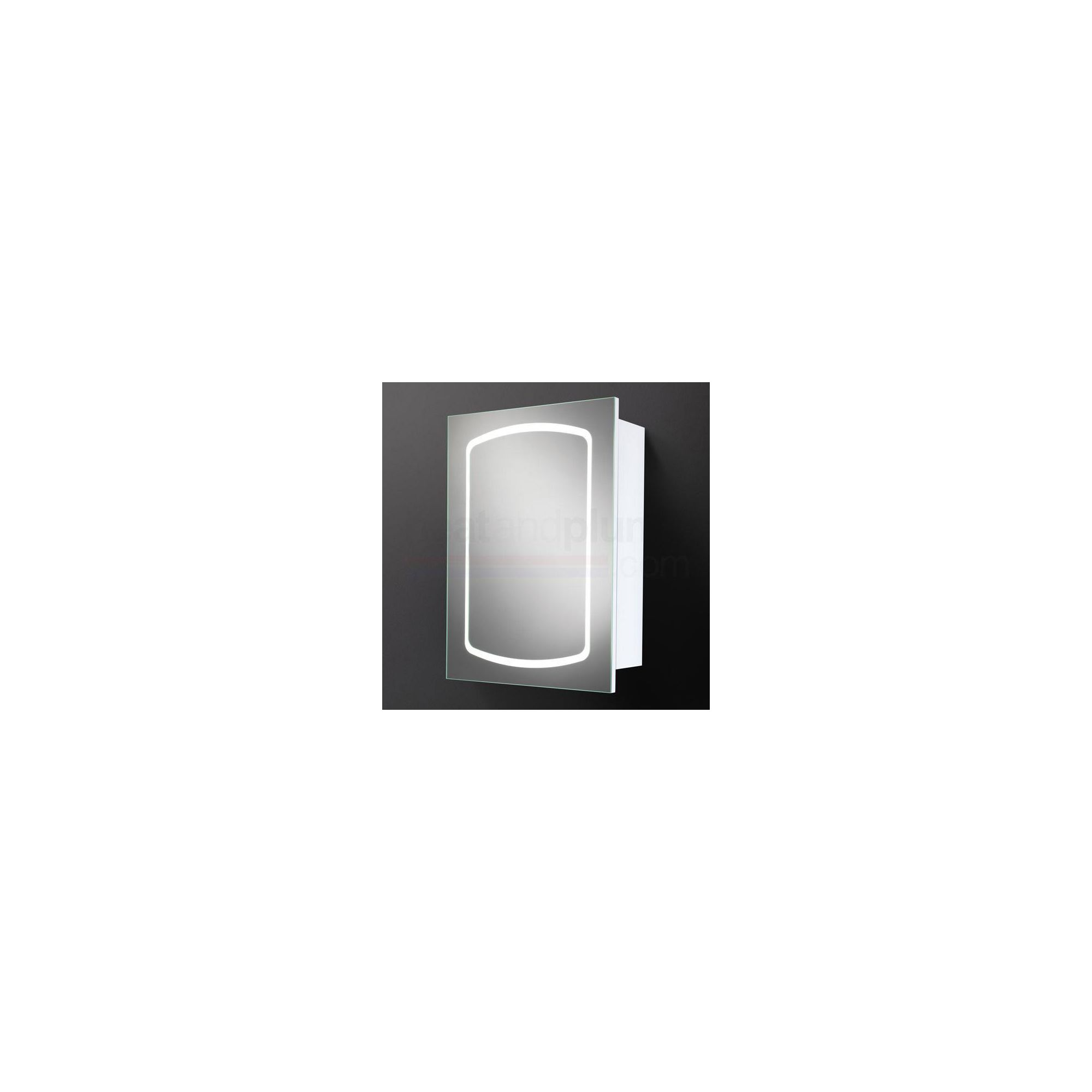 HiB Dakota LED Illuminated Bathroom Cabinet 680mm High x 500mm Wide x 145mm Deep