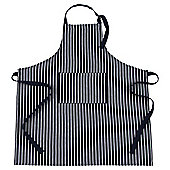 Tesco Butchers Stripe Apron, Navy