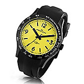 Kennett Gents Altitude Black & Yellow Watch WALTBKYEPBK