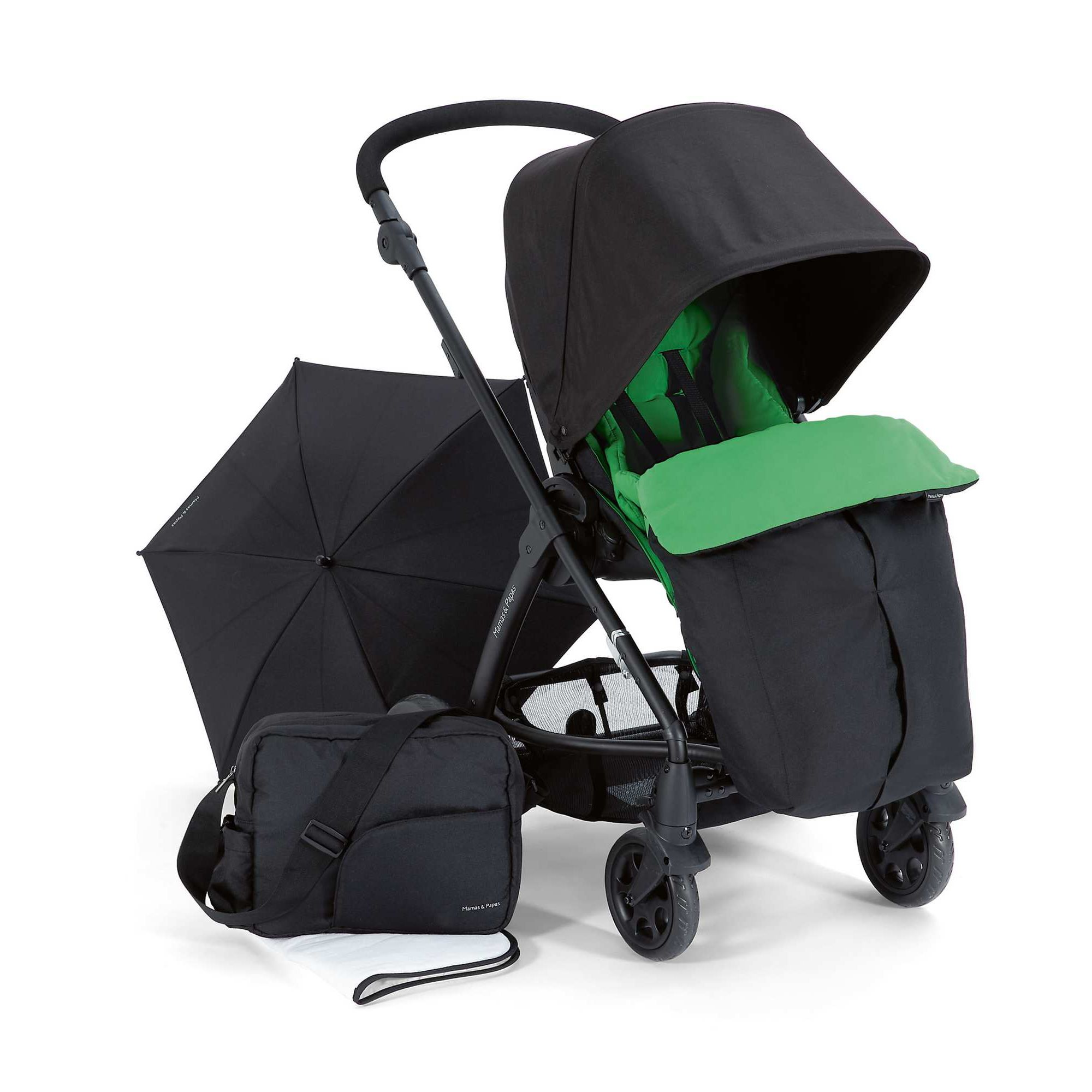 Mamas & Papas - Glide Package - Black/Grass at Tesco Direct