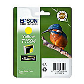 Epson Kingfisher T1594 UltraChrome Hi-Gloss2 Yellow Ink Cartridge for Epson Stylus Photo R2000