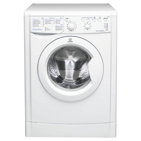 Indesit IWSB61151 ECO Washing Machine , 6Kg Load, 1100 RPM Spin, White