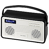 View Quest Retro ColourGen DAB+/FM Radio with iPod Dock (Black, 30 Pin)