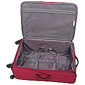 IT Luggage Megalite Suitcase, Ribbon Red Small