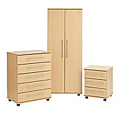 Ideal Furniture New York Bedroom Collection - Beech