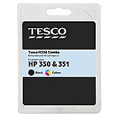 Tesco H350 combo pack (Compatible with printers using HP 350 & 351 ink cartridges)