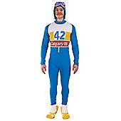 80S Olympic Skier Costume Standard
