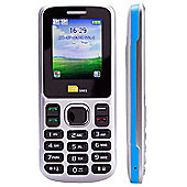 TTsims Dual Sim TT130 Mobile Phone with Camera and Bluetooth - Blue