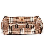 "Danish Design Newton Truffle Snuggle Dog Bed 23"""