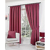 Rome Ready Made Lined Curtains - Pink