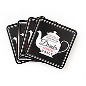 David Mason Design Nostalgia Coasters (Set of 4)