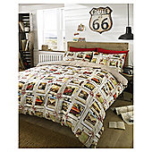 HASHTAG Bedding Voyage Duvet Cover and Pillowcase Set, Double