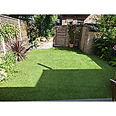 Buckingham- Top Quality Artificial Grass For Gardens, 4x4m, 26mm Thick