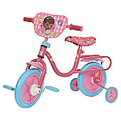 "Doc McStuffins 10"" Kids' Bike with Stabilisers"