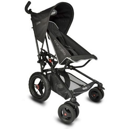 Micralite Fastfold Superlite Classic Stroller (Black)