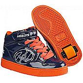 Heelys Fly Navy/Orange Heely Shoe - 10