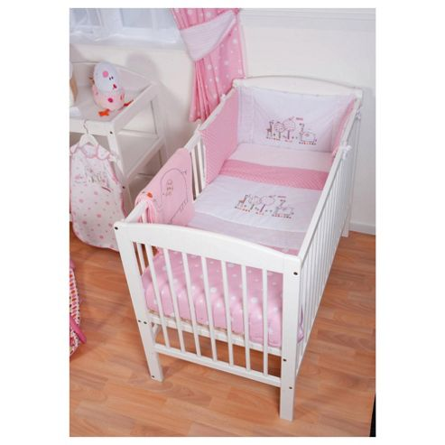 buy kite cosi cot bedding set hello ernest pink from our baby bedding range tesco