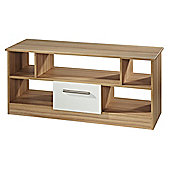 Welcome Furniture Living Room TV Stand - Vanilla/Cocobola