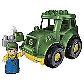 Mega Bloks John Deere Tractor