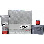 James Bond 007 Quantum Gift Set 30ml EDT Spray + 50ml Shower Gel For Men