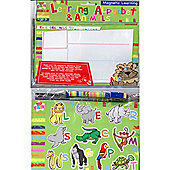 Magnetic Learning Alphabet And Animals