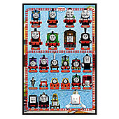 Gloss Black Framed Thomas the Tank Engine Thomas & Friends Poster