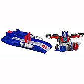Transformers Bot Shots Battle Game - Spin Shot Optimus Prime
