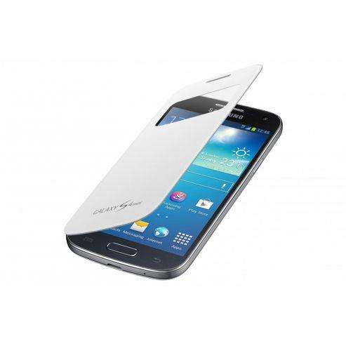 Samsung Original S View Cover for Galaxy S4 Mini - White