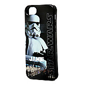 Star Wars Personalised iPhone 5/5s Cover - Classic Stormtrooper