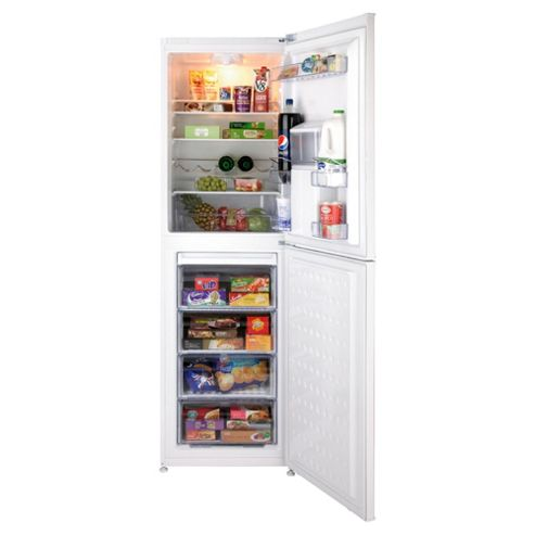 Beko CFD6914APW Fridge Freezer, A+, 59.5, White