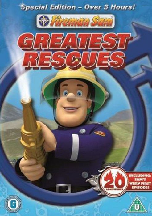Fireman Sam - Sam'S Greatest Resues (DVD)