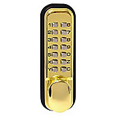 Sterling Polished Brass Digital Door Lock