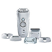 Braun Silk-Epil 7 SE7-561 Wet & Dry Epilator with 6 Attachments