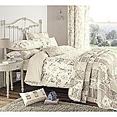 Dreams n Drapes Lila Natural Pair Housewife Pillowcases - Natural