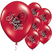 11' Love You Red Rose (6pk)