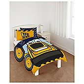 Jcb Truck Shape Duvet Set Single