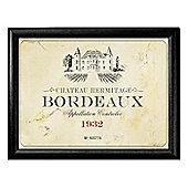 Pimpernel Cushioned Lap Tray, Vin de France 44 x 34cm