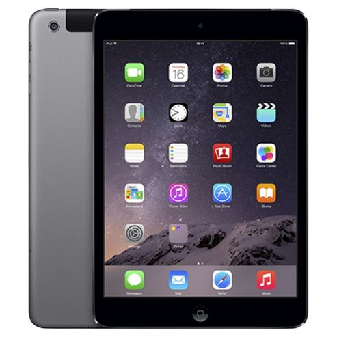Apple iPad mini 2, 16GB, WiFi & 4G LTE (Cellular) - Space Grey