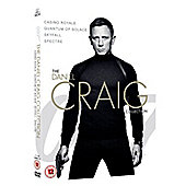 James Bond - The Daniel Craig Collection DVD