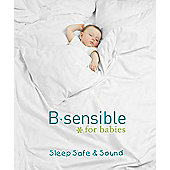 B Sensible Tencel Sheet - Crib - White