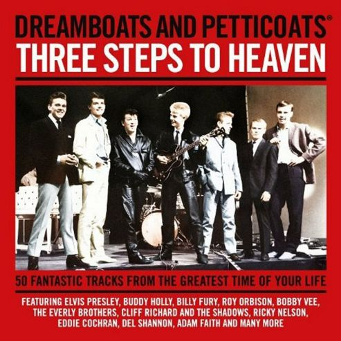 Dreamboats And Petticoats Presents - 3 Steps To Heaven (2Cd)