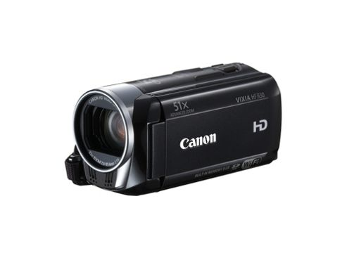 Canon LEGRIA HF R36 HD Camcorder 51x Advanced Zoom 7.5cm Touch Screen (Black)