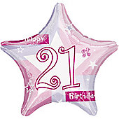 "18"" 21st Star Pink (each)"