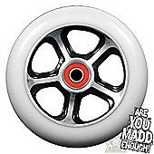 Madd Gear DDAM CFA 110mm Scooter Wheel Including Bearings - Black/White