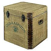 "Alterton Furniture ""Old Rasputin"" Canvas Blanket Box"
