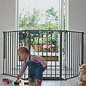 BabyDan Configure Gate Silver